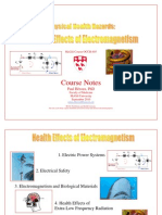 Health Effects of Electromagnetism