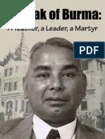 Dr. Nyi Nyi - U Razak of Burma