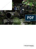 Fire Control System for Crew-Served Weapons