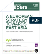 A European Strategy towards East Asia
