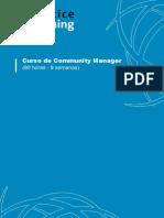 Curso de Community Manager Programa