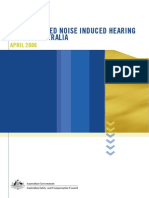 WorkRelated Noise Induced Hearing2006AUSTRALIA