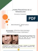 Trastorno Psicopático de la personalidad (SIMPOSIO)