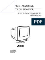 Aoc Ct520g Series s554b Series 41as554-Aoc-e00 Version a00