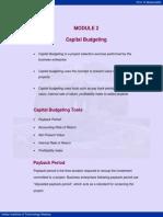 Capital budgeting Book