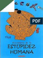 Rius Diccionario de La Estupidez Humana