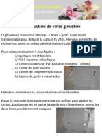 Construction Glovebox