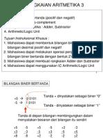 Rangkaian Aritmetika 3