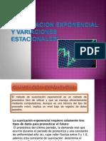 Suavizacion Exponencial y Variaciones Estacionales Con Tendencia