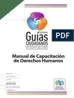 Manual de Capacitacion de Derechos Humanos