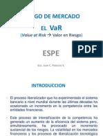 3.1 Riesgo de Mercado - VaR
