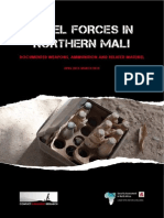 SAS SANA Conflict Armament Research Rebel Forces in Northern Mali