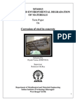 Corrosion and Environmental Degradation of Material