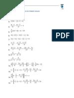 Ejercicios Ecuaciones 1c2ba y 2c2ba Grado1