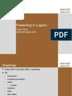 Storytelling in Lugano (2009.04.28)