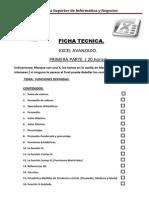 Items de Excel Avanzado