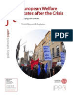 Welfare States After the Crisis