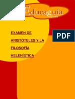 Aristoteles y La Filosofia Helenistica
