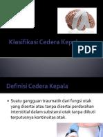 Klasifikasi Cedera Kepala Berat