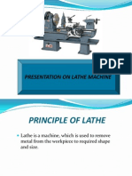 Presentation of Lathe Machine