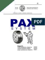 Sist Neumático llanta Pax MICHELIN