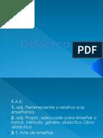 Didactica, Tecnica, Estrategia, Defn