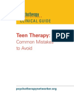 Teen Therapy Free Report