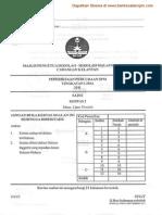 Soalan Sains Kertas 2 Percubaan SPM Kelantan 2011