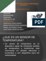 Pt 100 Sensor de Temperatura