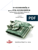 2013 Giuseppe GAGLIANO Economic Warfare and Geo-economics according to French strategists