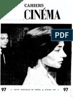 Cahiers du Cinéma Vol. 97