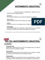 Rol Del Mantenimiento Industrial