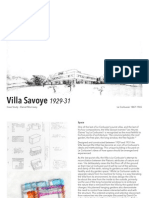 Case Study Final vila savoye le corbusier