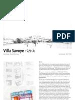 Case Study Final vila savoye le corbusier