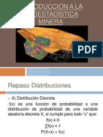 Introducción a la Geo estadística Minera