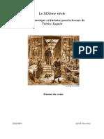 19ème siècle et Thérèse Raquin