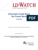 Chocolate Could Bring the Forest Back