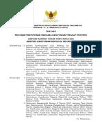 Peraturan Menteri Kehutanan Nomor 1 Tahun 2012 Pedoman Penyusunan Rencana Kehutanan Tingkat Propinsi