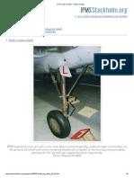 FFVS J 22 in Detail - Undercarriage