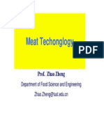 Meat Technology
