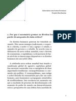Costas Douzinas Educacao Revolucoes e Seus Direitos Entrevista