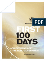 First 100 Days of Rudd Government