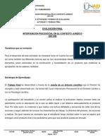 Datateca.unad.Edu.co Contenidos 301139 Examen Intervencion Psicosocial en El Contexto Juridico