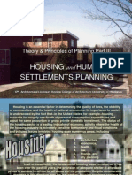 Theory of Planning3 - Housing
