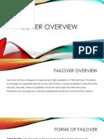 Failover Overview