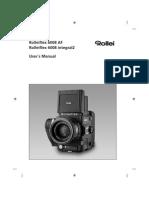 Rollei 6008AF & Integral2 Manual
