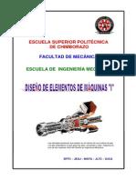 DISEÑO DE ELEMENTOS DE MAQUINAS ( IVAN MORAN)