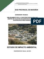 C.S de Huacrachuco. Impacto Ambiental.final
