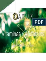 Vitaminas y Minerales Optimos de Nutrifii