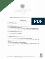 Modelo Educativo de La Universidad Central Del Ecuador